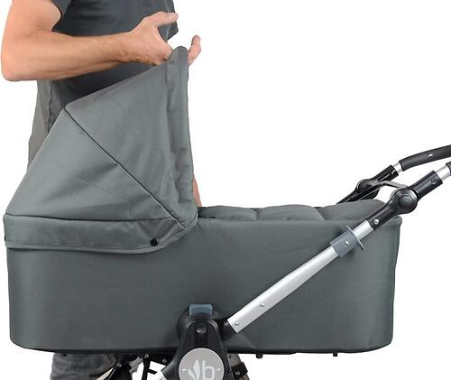 Люлька Bumbleride Carrycot для Indie & Speed Maritime Blue (6)