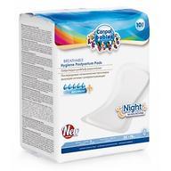 Прокладки Canpol послеродовые дышащие ночные 10 шт