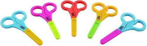 Ножницы Canpol безопасные c колпачком (3)