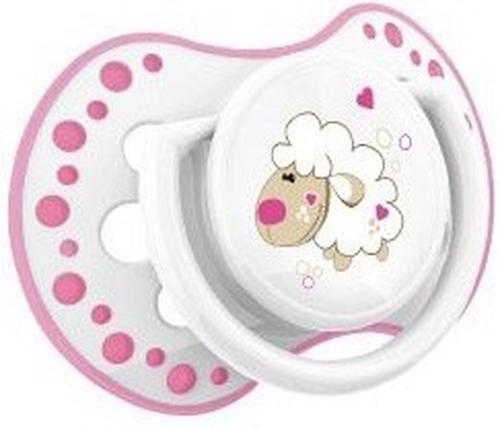 Lovi пустышка силиконовая динамичная 0-3 мес NIGHT DAY 2 шт для девочек 22/809 girl (8)