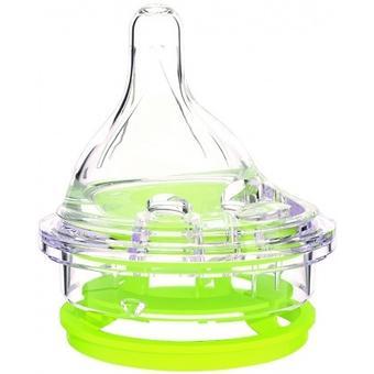 Соска Canpol для бутылочки антиколиковой с широким горлышком Haberman - Minim