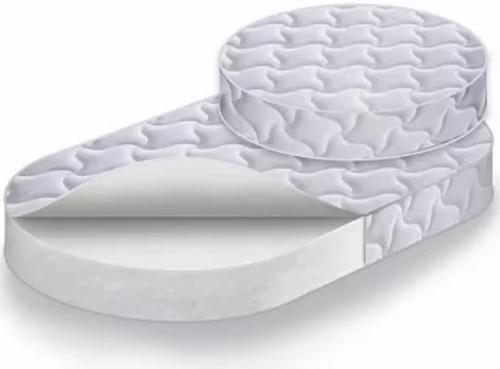 Комплект матрасов Caramelia RingStandart в кровать-трансформер Круг+Овал средней степени жёсткости (1)