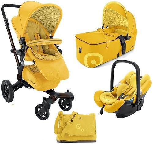 Коляска Concord 3 в 1 Neo Mobility Set L.E. Blazing Yellow 2015 (10)