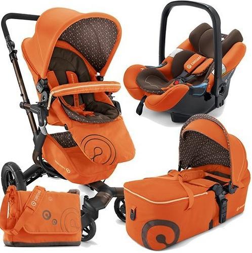 Коляска Concord 3 в 1 Neo Mobility Set L.E. Rusty Orange 2015 (10)