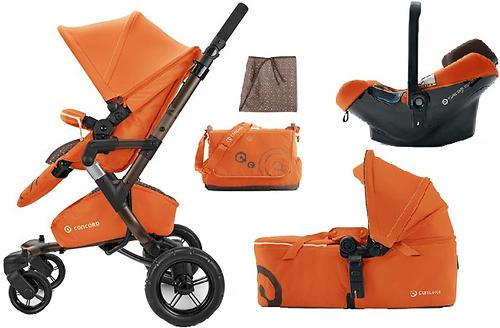Коляска Concord 3 в 1 Neo Mobility Set L.E. Rusty Orange 2015 (11)