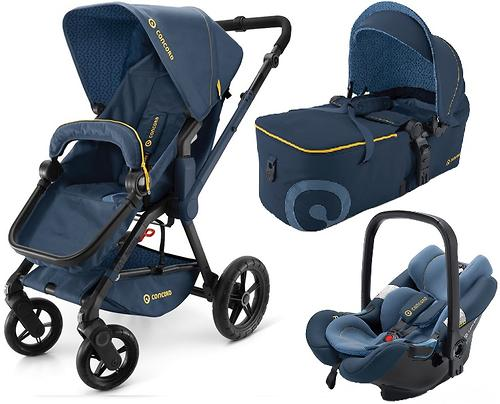 Коляска Concord 3 в 1 Wanderer Mobility Set Denim Blue (9)