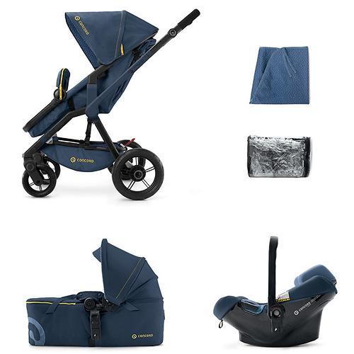 Коляска Concord 3 в 1 Wanderer Mobility Set Denim Blue (10)