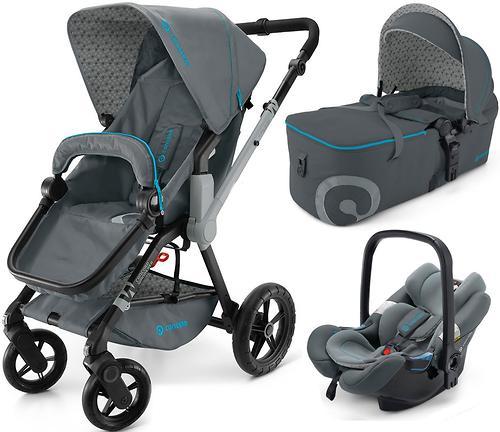 Коляска Concord 3 в 1 Wanderer Mobility Set Stone grey (12)