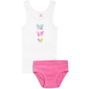 Комплект Croсkid для девочки К 1064/сахар+лососево-розовый - Minim