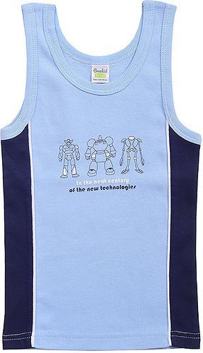 Майка Crockid К 1087/голубой глуб.синий майка для мальчика (3)
