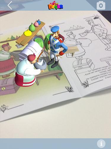 Книга Devar Сказка-раскраска Каша из топора 3D (6)