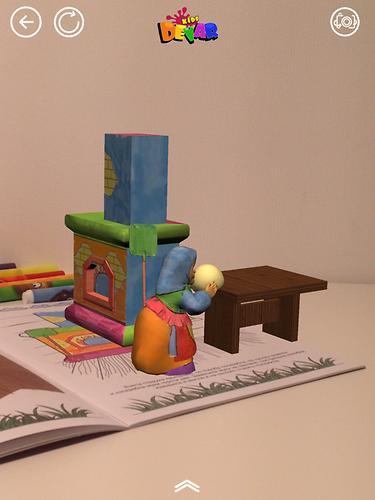 Книга Devar Сказка-раскраска Колобок 3D (9)