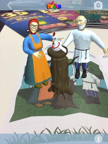 Книга Devar Сказка-раскраска Курочка Ряба 3D (9)