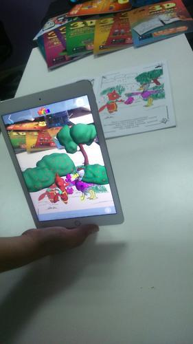Книга Devar Сказка-раскраска Лиса и журавль 3D (9)