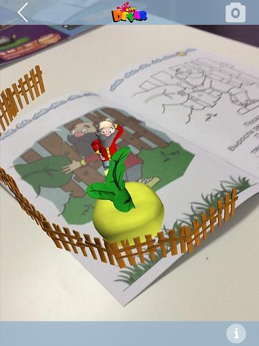 Книга Devar Сказка-раскраска Репка 3D (10)