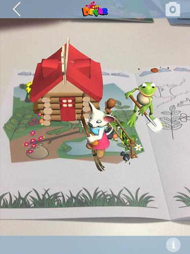 Книга Devar Сказка-раскраска Теремок 3D (8)
