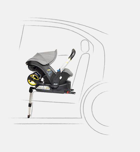 База ISOFIX SimpleParenting для коляски-автокресла Doona (11)