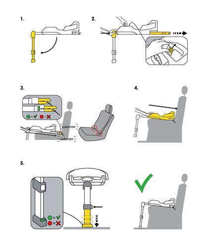 База ISOFIX SimpleParenting для коляски-автокресла Doona (13)