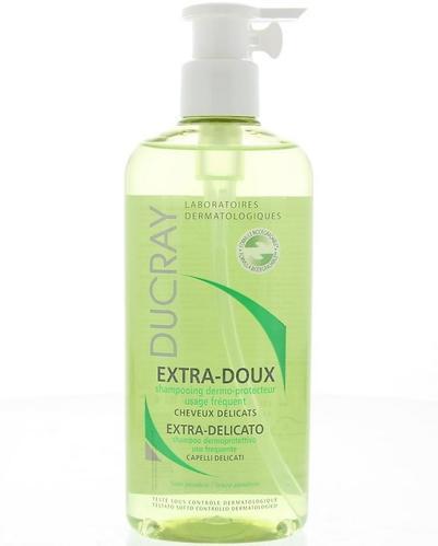 Шампунь Ducray Extra-Doux увлажняющий для частого применения флакон-помпа 400 мл (1)