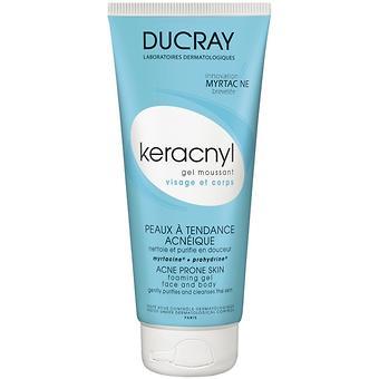 Гель Ducray Keracnyl очищающий 200 мл - Minim