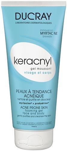 Гель Ducray Keracnyl очищающий 200 мл (1)