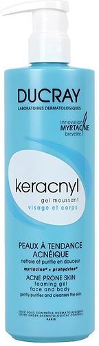 Гель Ducray Keracnyl очищающий 400мл (1)