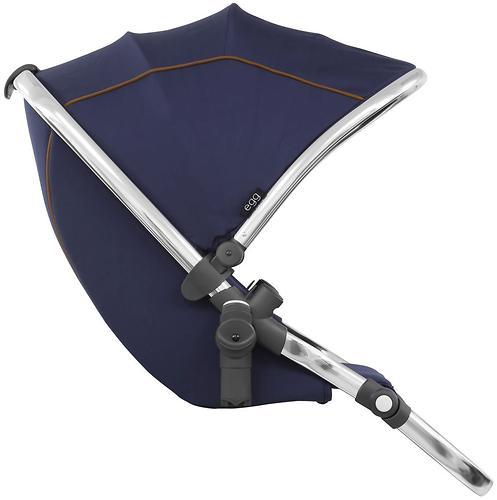 Прогулочный блок для второго ребенка Egg Tandem Seat Regal Navy - Mirror Chassis (5)