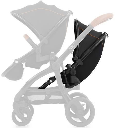 Прогулочный блок для второго ребенка Egg Tandem Seat Espresso - Black Chassis (4)