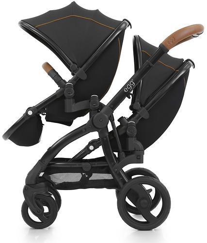 Прогулочный блок для второго ребенка Egg Tandem Seat Espresso - Black Chassis (6)