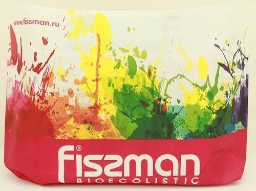 Промо-сумка Fissman для покупок с логотипом Fissman разноцветная - пурпурная (1)