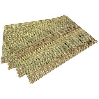 Комплект из 4 сервировочных ковриков на обеденный стол Fissman (ПВХ) 0649 - Minim