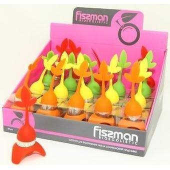 Ситечко для заваривания чая Fissman на силиконовой подставке 7232 - Minim