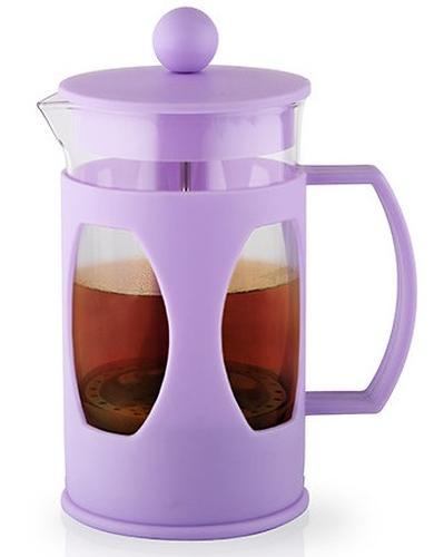 Заварочный чайник Fissman с поршнем Mokka 600 мл цвет Лиловый 9004 (1)