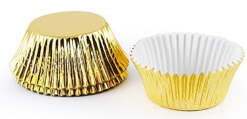Комплект Fissman из 32 формочек 50x32,5 мм, цвет Золотой(фольг. бумага) 6618 (1)