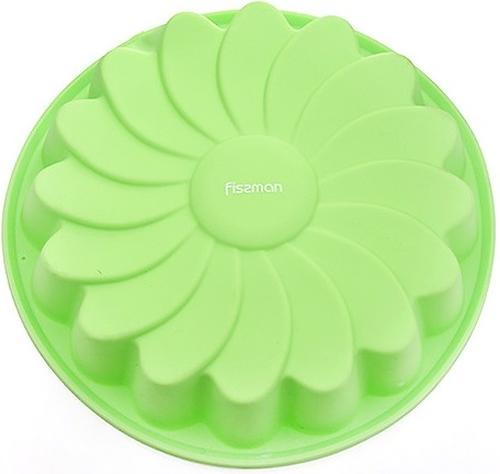 Форма для выпечки Fissman Ромашка цвет Зеленый Чай (силикон) 6671 (1)