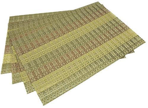 Комплект из 4 сервировочных ковриков на обеденный стол Fissman (ПВХ) 0650 (1)