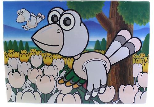 Коврик для рисования водой Fissman Птичка (пластик) 0667 (1)