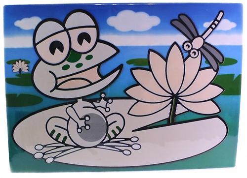 Коврик для рисования водой Fissman Динозаврики (пластик) 0670 (1)