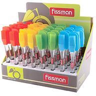 Силиконовая кисточка и лопатка Fissman (в промо - упаковке) 7017