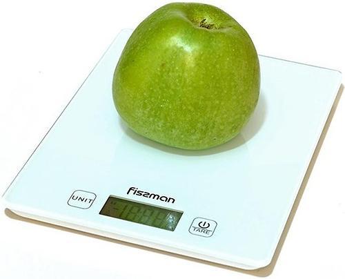 Весы Fissman кухонные электронные 19x14x1,4 см 0320 (5)