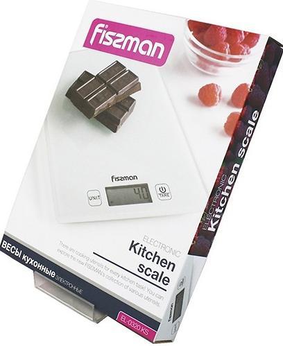 Весы Fissman кухонные электронные 19x14x1,4 см 0320 (6)