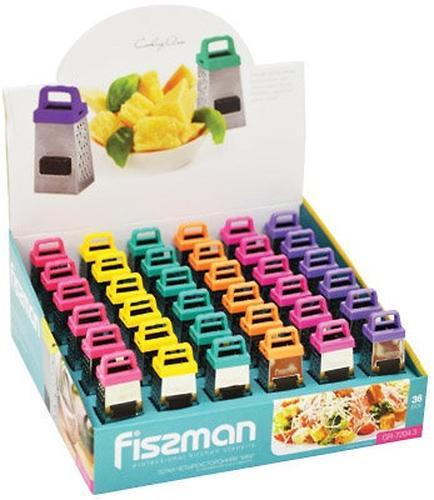 Терка четырехсторонняя Fissman MINI 7 см (нерж. сталь) 7204 (6)