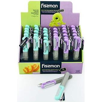 Многофункциональный нож для чистки овощей Fissman P-форма 8487 - Minim