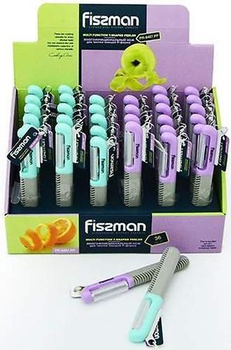 Многофункциональный нож для чистки овощей Fissman P-форма 8487 (1)