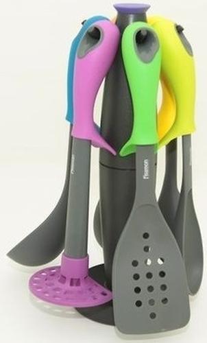 Набор кухонных инструментов Fissman FreeStyle multicolor 7 пр. (нейлон) (3)