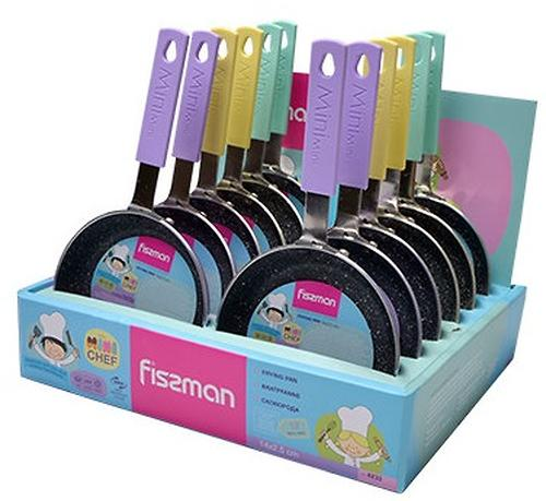 Сковорода Fissman Mini Chef 14x2,5 см (алюминий с антипригарным покрытием) 4233 (1)