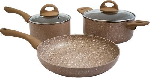 Набор посуды 5 пр. Fissman Latte (алюминий с антипригарным покрытием) 4951 (1)