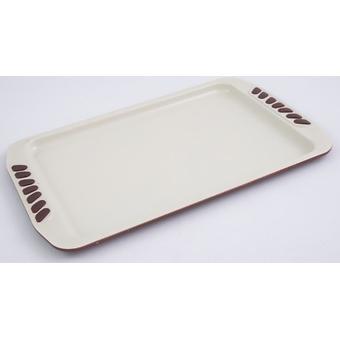 Противень Fissman 35 см (углеродистая сталь с керам. антипригарным покрытием) 5557 - Minim