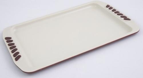 Противень Fissman 35 см (углеродистая сталь с керам. антипригарным покрытием) 5557 (1)