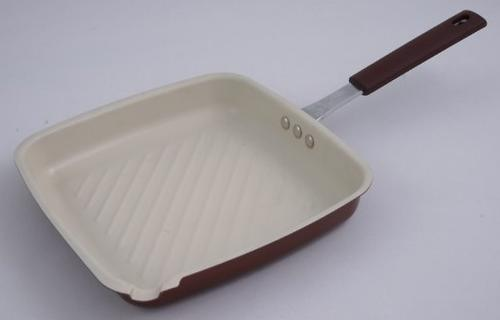 Сковорода-гриль (углеродистая сталь с керам. антиприг. покрытием) 5562 (1)